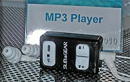 MP3 Player bis 1ß Meter wasserdicht © UWW