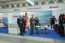 © Rolf Sempert - aquata auf der Messe in Moskau